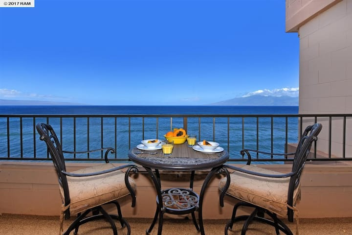 Maui Oceanfront Dream View!