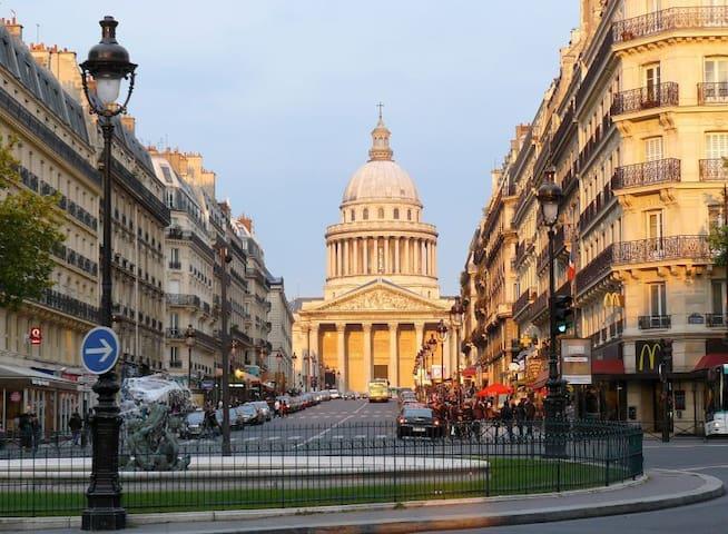 Latin Quarter -Saint Germain des Pres - 5 Persons