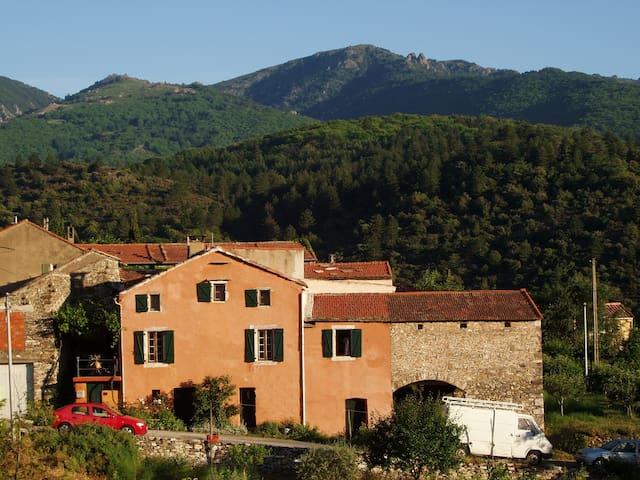 maison de caractère dans le Parc du Haut-Languedoc - Saint-Vincent-d'Olargues - Rumah