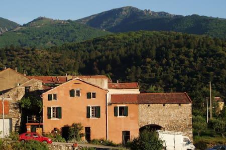 maison de caractère dans le Parc du Haut-Languedoc - Saint-Vincent-d'Olargues