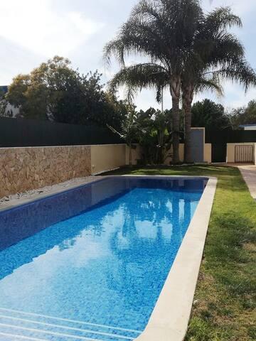 Casa da Fonte.  T2 com piscina (junto a Vilamoura)