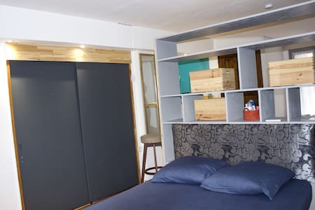 Air conditioned guest studio with pool