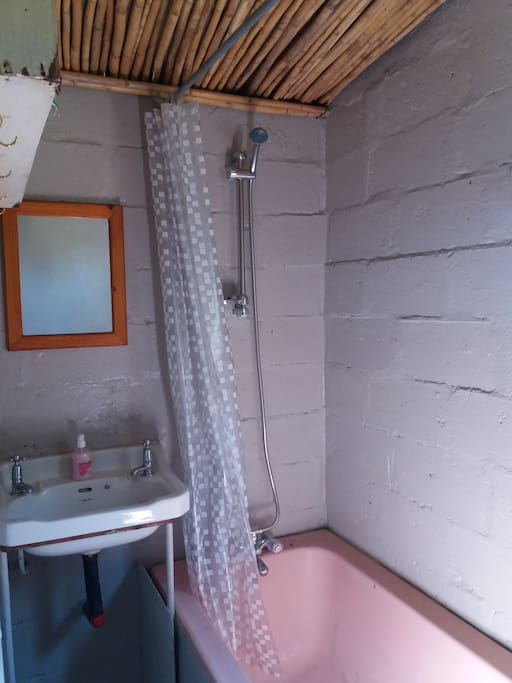 Bathroom with hotwater