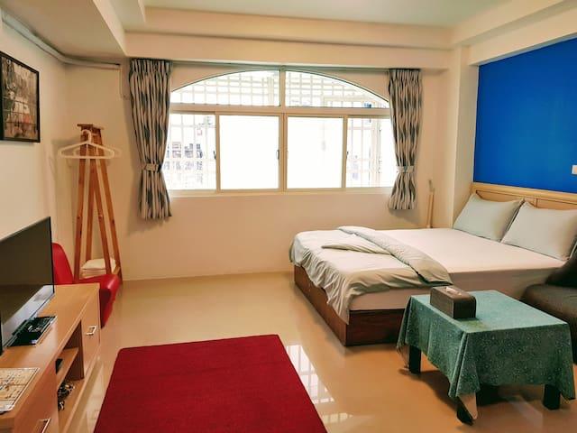 正市中心獨立小公寓(一次只接待一組客人)