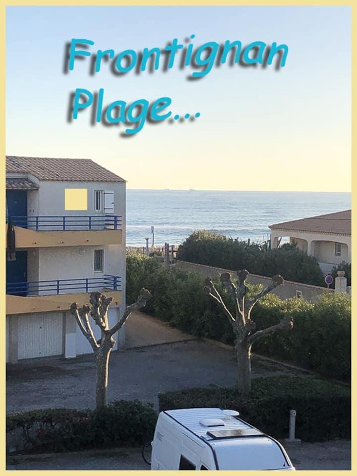Frontignan plage T2 climatisé