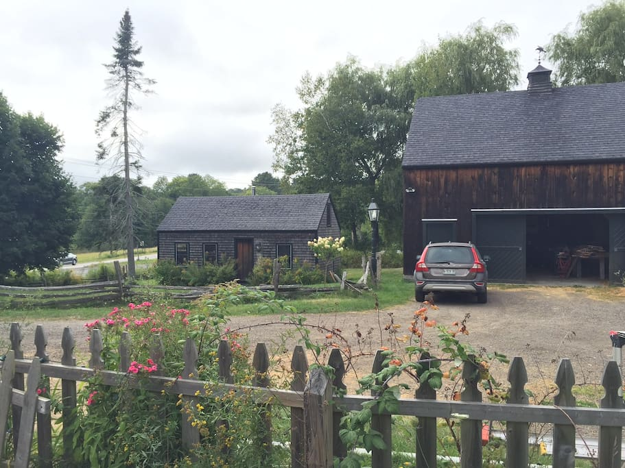 Barn and Guest House