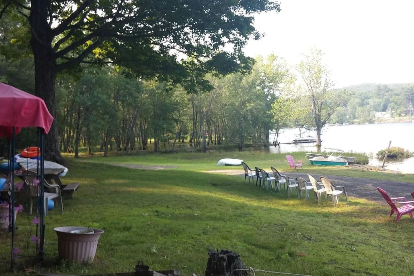 Direct Great Sacandaga Lakefront Access 435' Dock Space, too