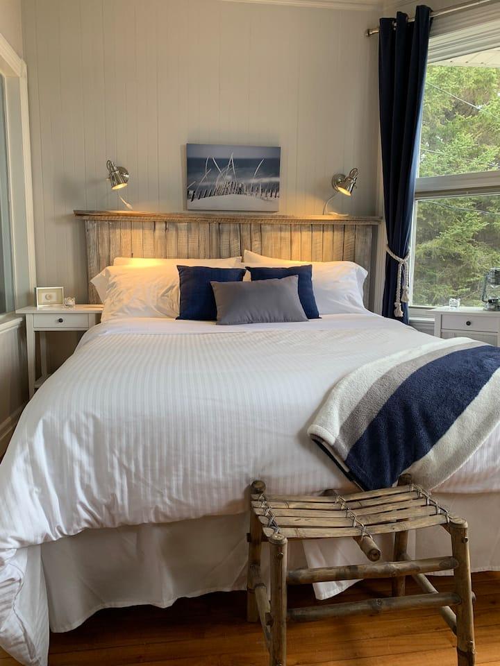 Chambre #1 - Auberge Bleu sur Mer