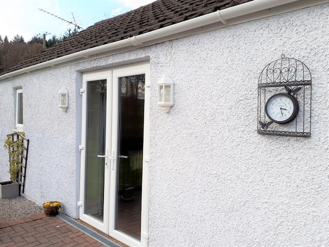 Garden apartment in beautiful Dumfries & Galloway
