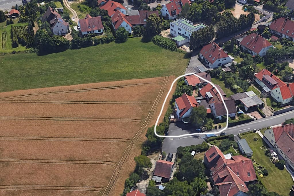 House from the air