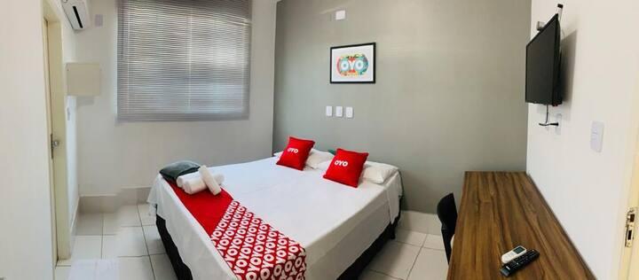 Hotel! Suite espetacular 221 COM CAFÉ DA MANHÃ.
