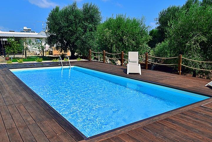 Villetta Opale - con piscina nell'Alto Salento