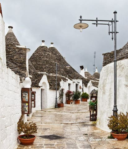Trulli Qeen old town - Alberobello - Huis