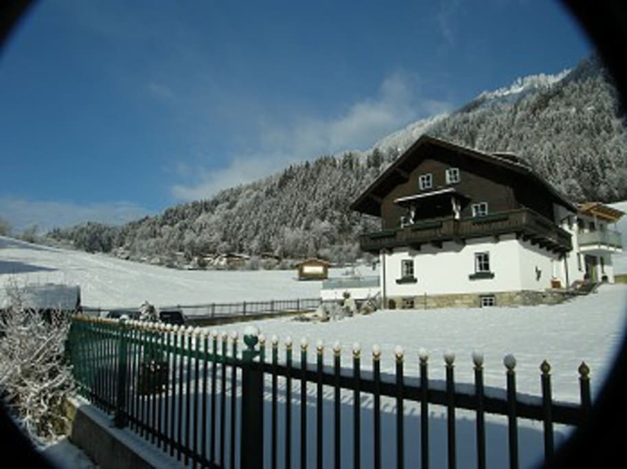 Theresien-Chalet im Winter