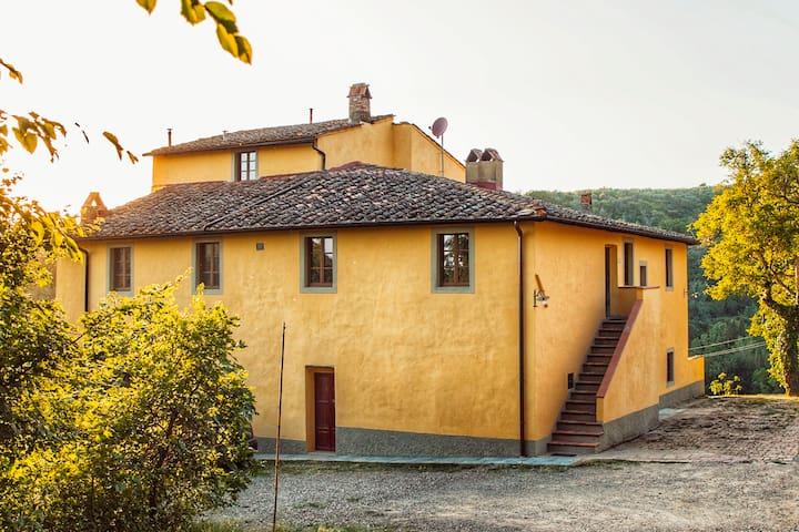 Agriturismo I Lucciani nel Chianti
