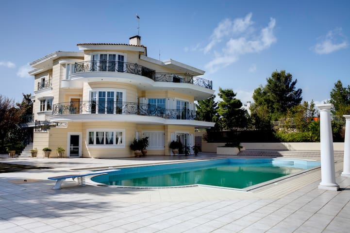 Incredible SEAVIEW VILLA with POOL - Oropos - Villa
