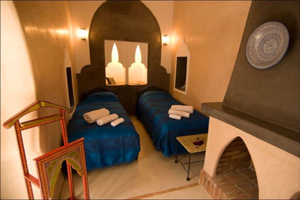 chambre triple Kajam