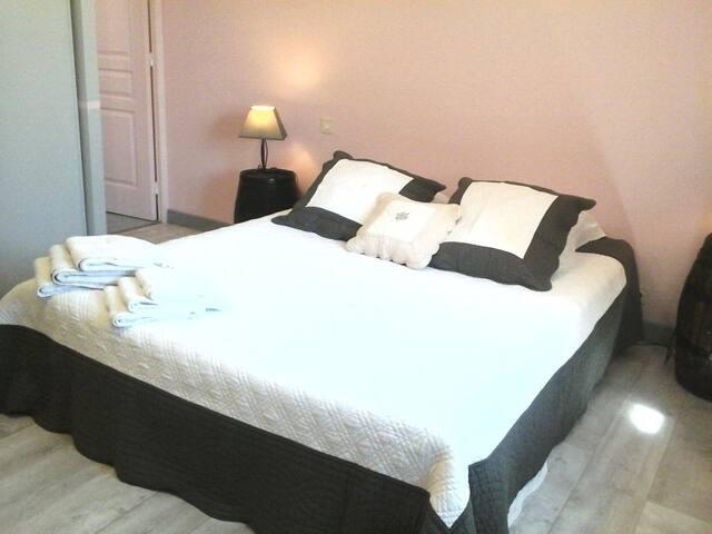 Chambres d'hôtes Vents d'Anges - Sainte-Cécile-les-Vignes - Bed & Breakfast