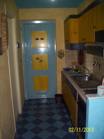 Furnished house with kitchen at sea - Chianchitta-pallio - Appartement