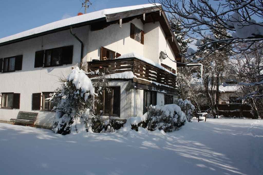 Our Holiday Home in the winter / Unsere Ferienwohnung im Winter