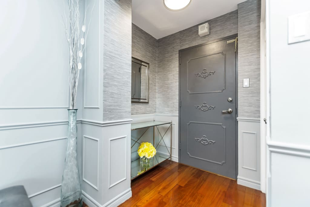 Entrance Area With Closet