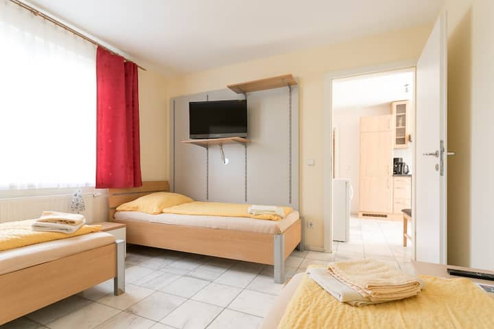 Apartment L6 for up to 6 people with free parking