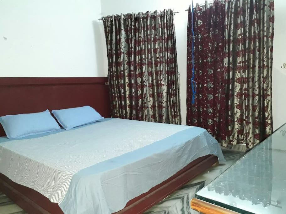 master bedroom in guest house