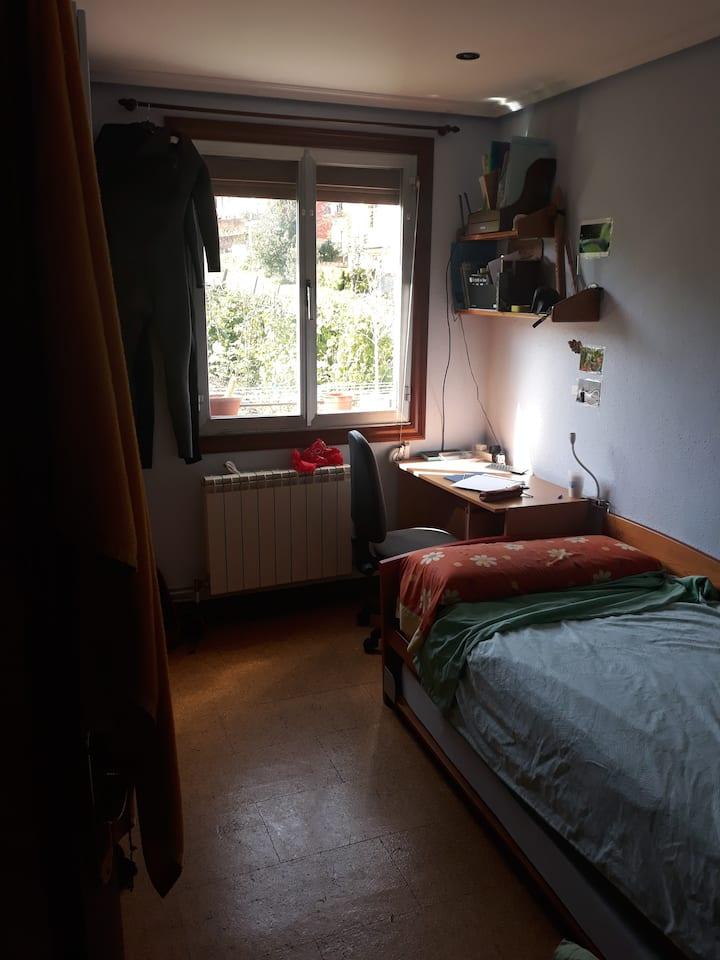 Habitación acogedora a 15 minutos de San Sebastián