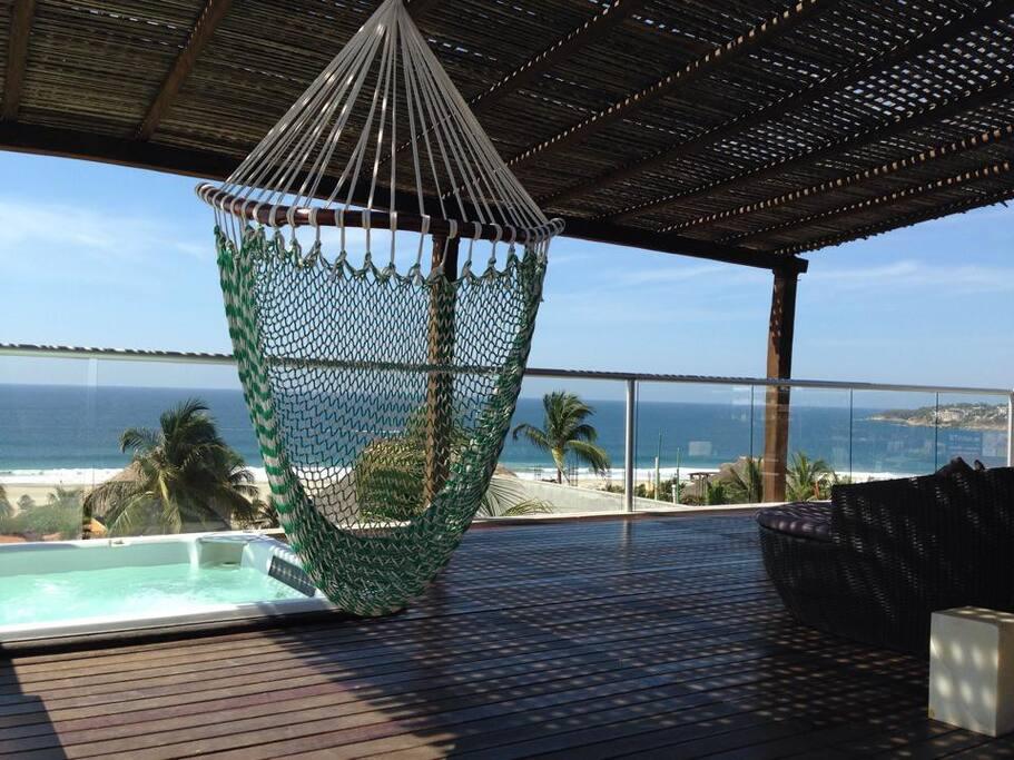 views from la punta to marinero