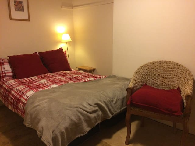 Large double room, rural farmhouse - Norfolk - Casa