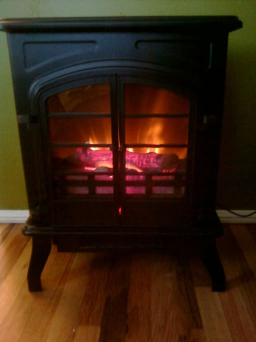Your very own little fireplace :)!
