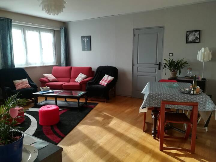 Appartement F3 de 94m2 agréable à Lingolsheim