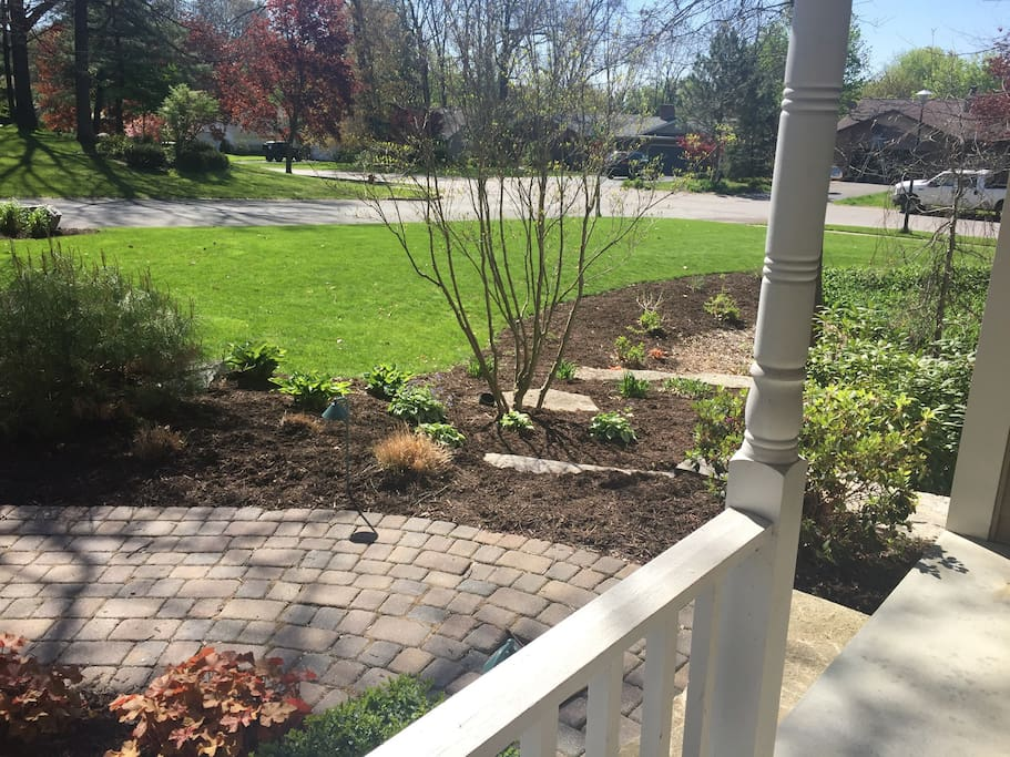 Professional landscaping to add to the natural beauty!