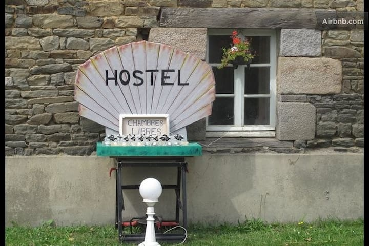 THE HOSTEL: It's a Bed in the Baie! - Pleine-Fougères - Internat