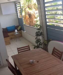 Bel appartement avec vue sur lagon - La Saline-Les-Bains