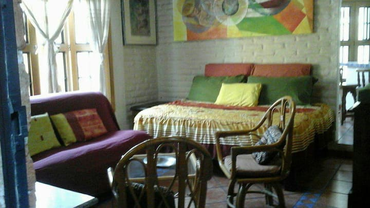 Art Gallery. Mexican Chalet