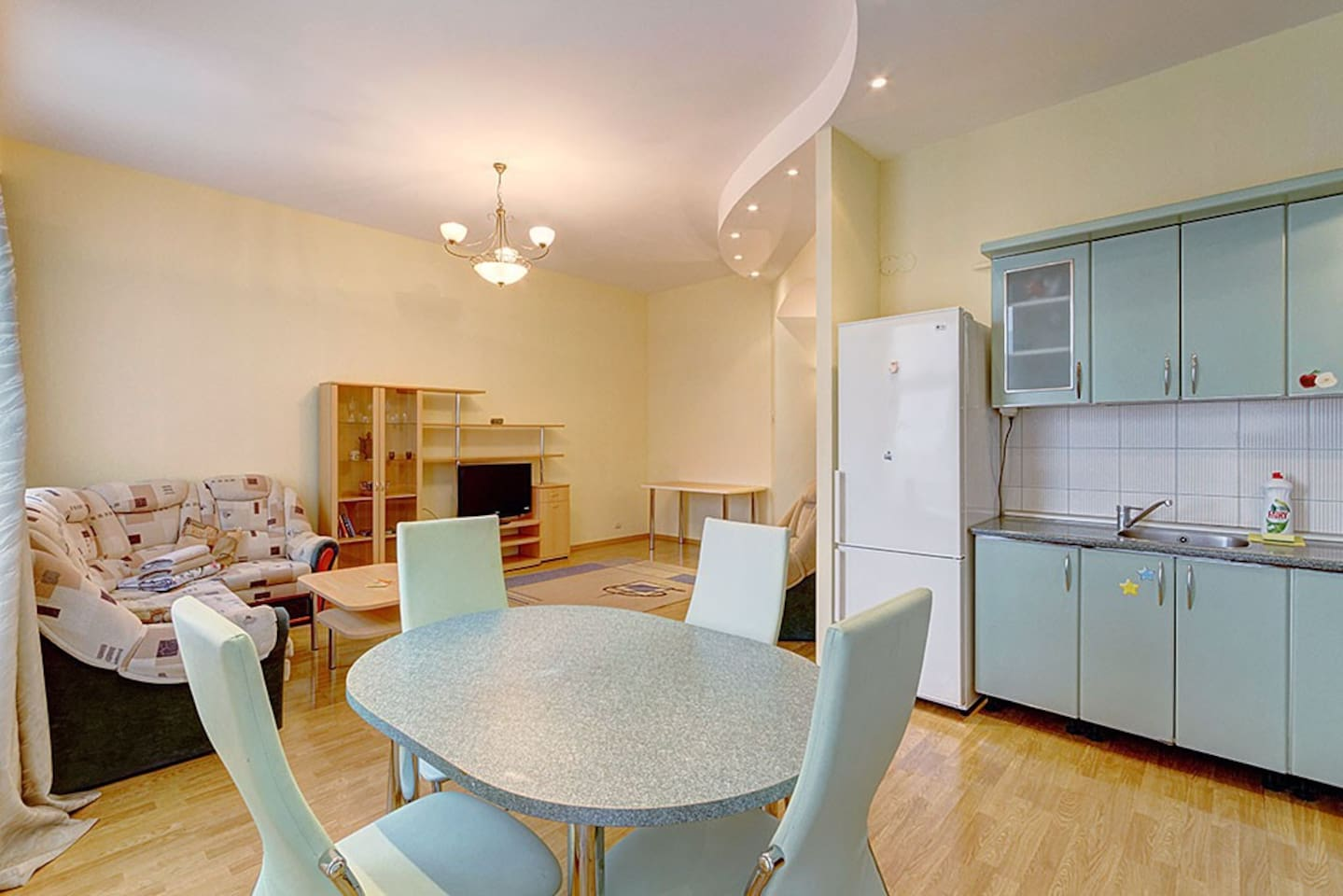 2bedroom apartment near Hermitage