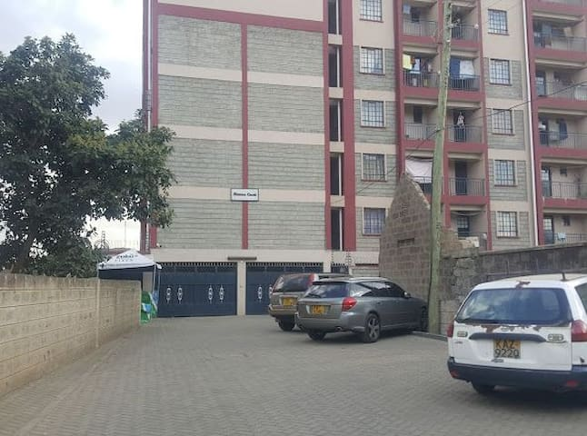 Clean and cosy one bedroom apartment in Nairobi