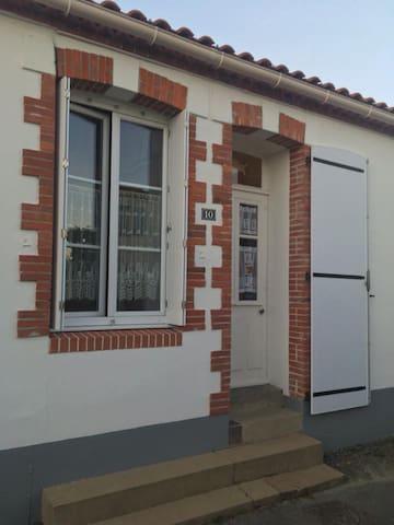 Maison de vacances  à 200m de la mer et du bourg - Les Moutiers-en-Retz - Casa de férias