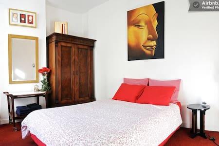 all private, art @ home in city center-2 - Amsterdam - Bed & Breakfast