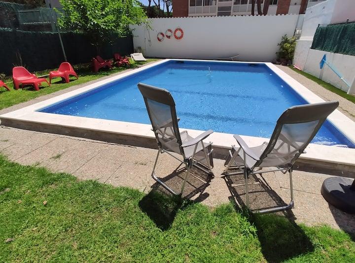 Casa Castelldefels Playa y  Piscina HUTB-014348
