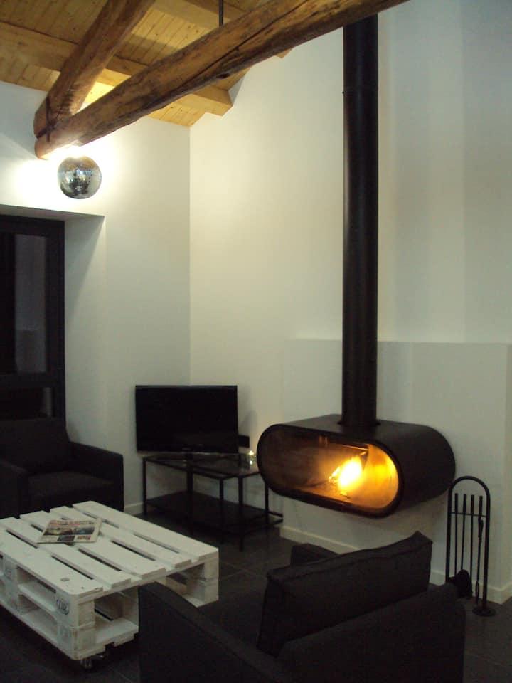 EL BAILE, casa con jacuzzi al lado de Peñafiel