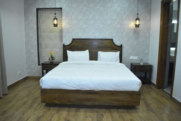 Orchid Bedroom KingBed 4KLED Plus Balcony Gurugram