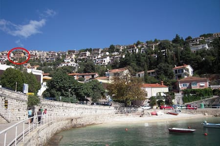 Lux apartments with panorama view - Rabac - Wohnung