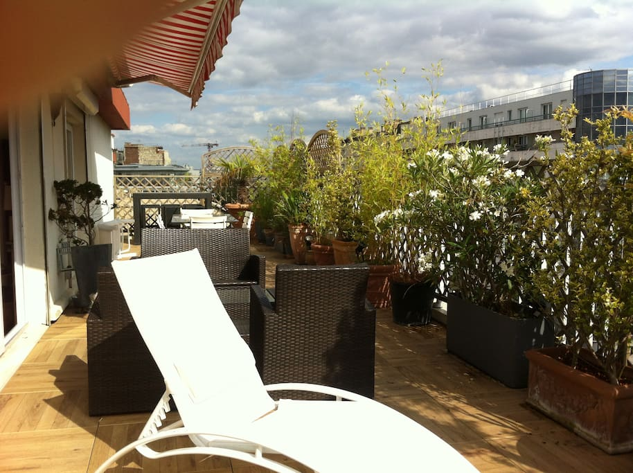 penthouse terrasse plein sud appartements louer boulogne billancourt le de france france. Black Bedroom Furniture Sets. Home Design Ideas