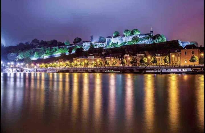 Se loger dans Belle Villa au calme proche de Namur