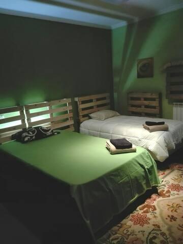 Vivenda Isabel Africa room