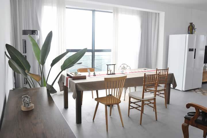 丹桂里两居|新中式270°落地窗|公园小区|近沃尔玛万达潍坊学院