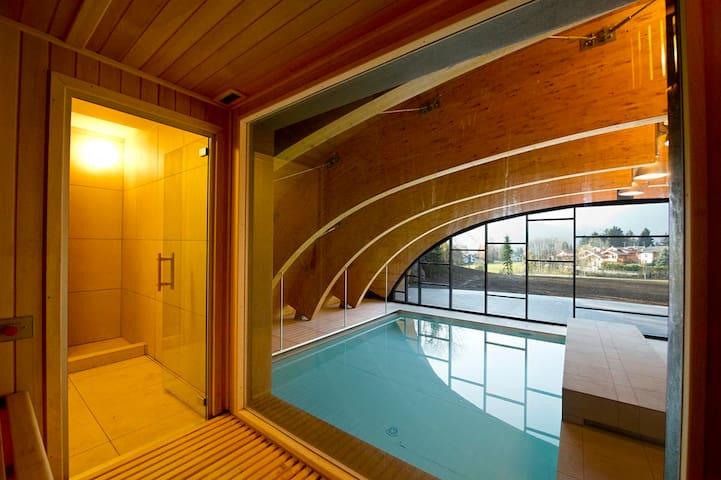 A3 - Bilocale in residence con piscina e SPA