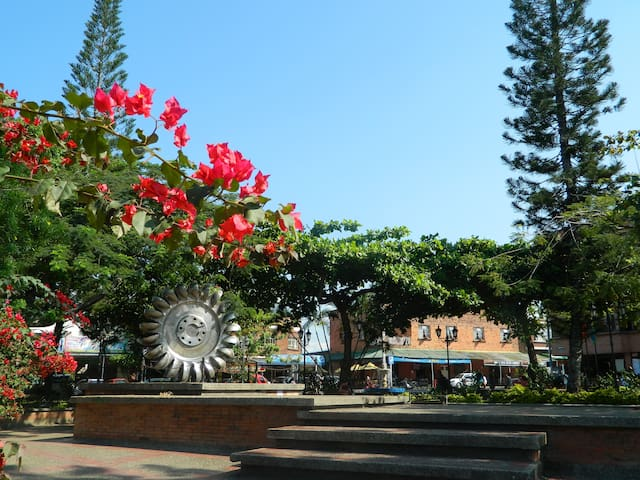 Beauty town near Bogotá hot weather - El Colegio - Apartament